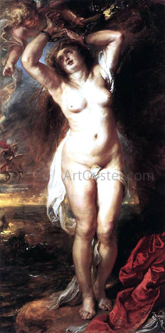 Peter Paul Rubens Andromeda - Canvas Art Print