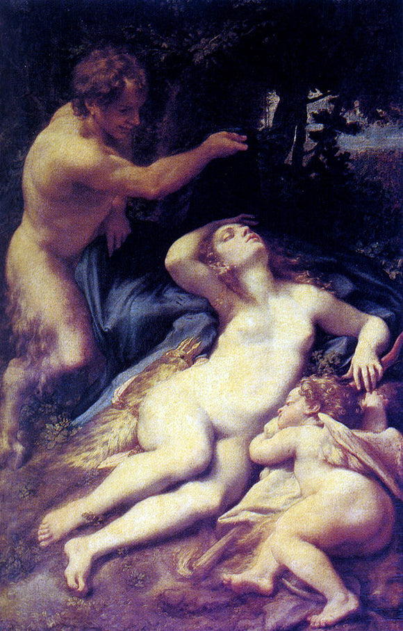 Correggio Antiope - Canvas Art Print