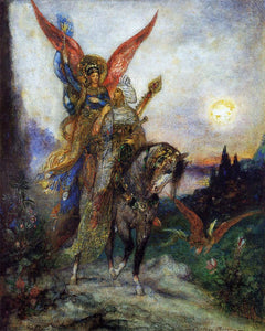Gustave Moreau Arabian Poet (also known as Persian) - Canvas Art Print
