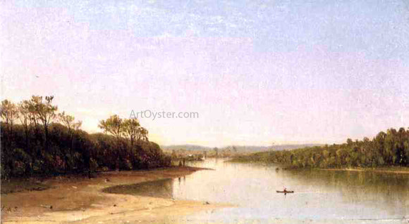 James Augustus Suydam At Rivers Bend - Canvas Art Print
