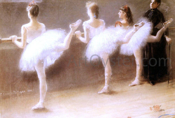 Pierre Carrier-Belleuse At The Barre - Canvas Art Print