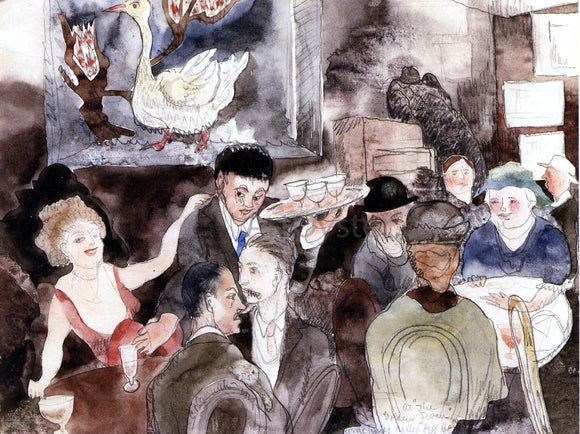 Charles Demuth At the Golden Swan: Sometimes Called 'Hell Hole' - Canvas Art Print