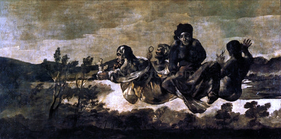 Francisco Jose de Goya Y Lucientes Atropos (also known as The Fates) - Canvas Art Print