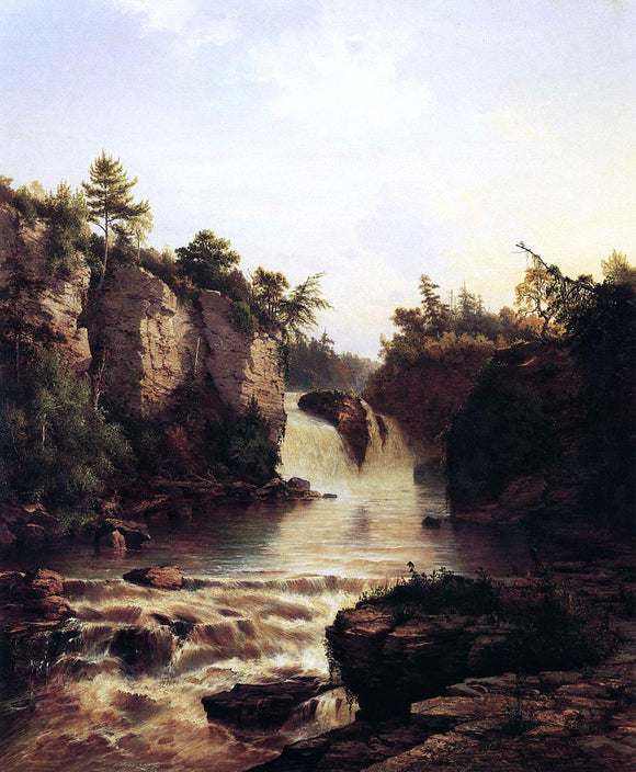 Frederick Rondel Ausable Falls - Canvas Art Print