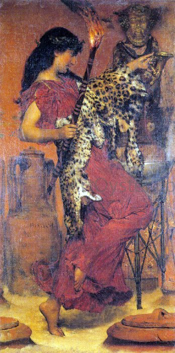 Sir Lawrence Alma-Tadema Autumn - Canvas Art Print