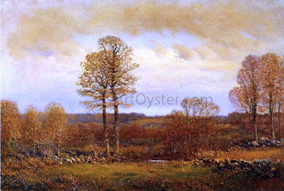 Dwight W Tryon Autumn Morning - Canvas Art Print