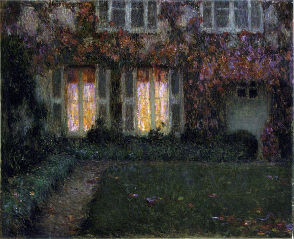Henri Le Sidaner Autumn Twilight - Canvas Art Print
