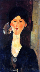 Amedeo Modigliani Beatrice Hastings Standing by a Door - Canvas Art Print