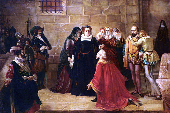 Antoine Springael Before The Execution - Canvas Art Print