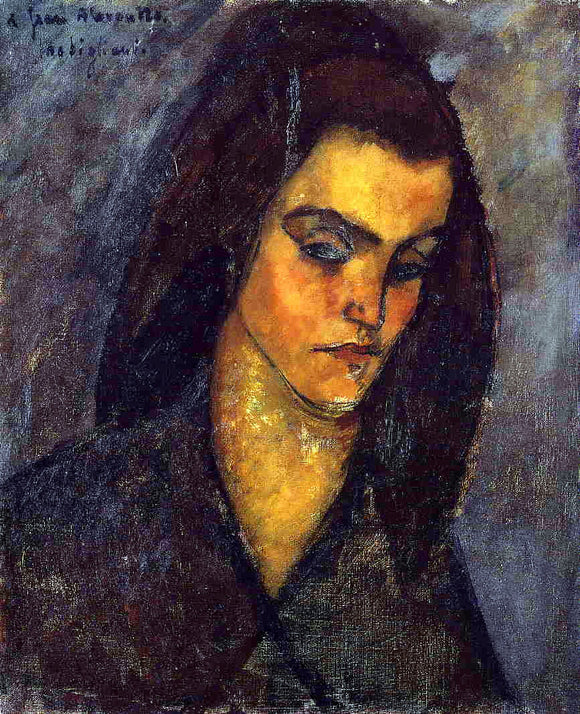 Amedeo Modigliani Beggar Woman - Canvas Art Print
