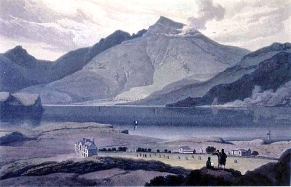 Robert Salmon Ben More - Canvas Art Print
