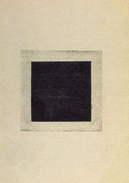 Kazimir Malevich Black Square - Canvas Art Print