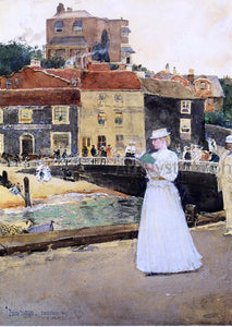 Frederick Childe Hassam Bleak House, Broadstairs - Canvas Art Print