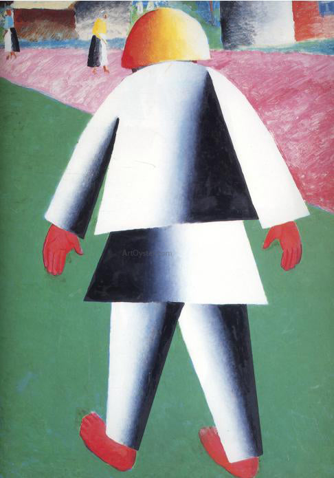 Kazimir Malevich Boy - Canvas Art Print