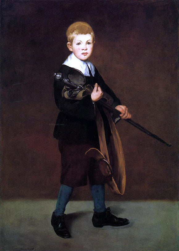 Edouard Manet Boy with a Sword - Canvas Art Print