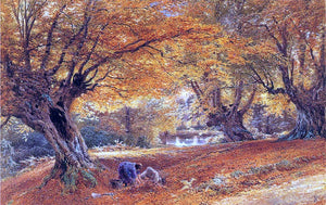 Myles Birket Foster Burnham Beeches - Canvas Art Print