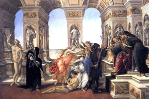 Sandro Botticelli Calumny of Apelles - Canvas Art Print