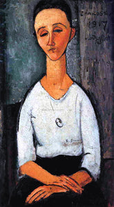 Amedeo Modigliani Chakoska - Canvas Art Print