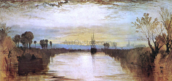 Joseph William Turner Chichester Canal - Canvas Art Print