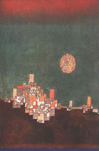 Paul Klee Chosen Site - Canvas Art Print