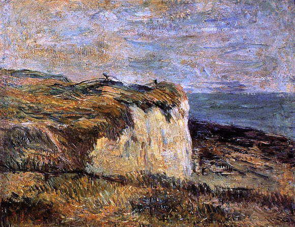 Paul Gauguin Cliff near Dieppe - Canvas Art Print