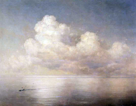 Ivan Constantinovich Aivazovsky Clouds Above a Sea, Calm - Canvas Art Print