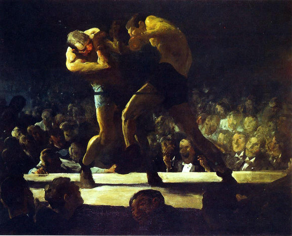 George Wesley Bellows Club Night - Canvas Art Print