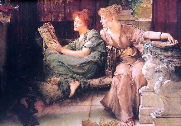 Sir Lawrence Alma-Tadema Comparisions - Canvas Art Print