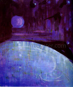 Mikalojus Ciurlionis Creation of the World III - Canvas Art Print