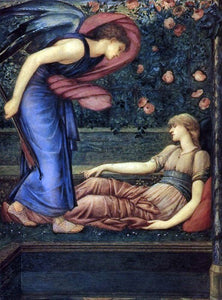 Sir Edward Burne-Jones Cupid and Psyche - Canvas Art Print