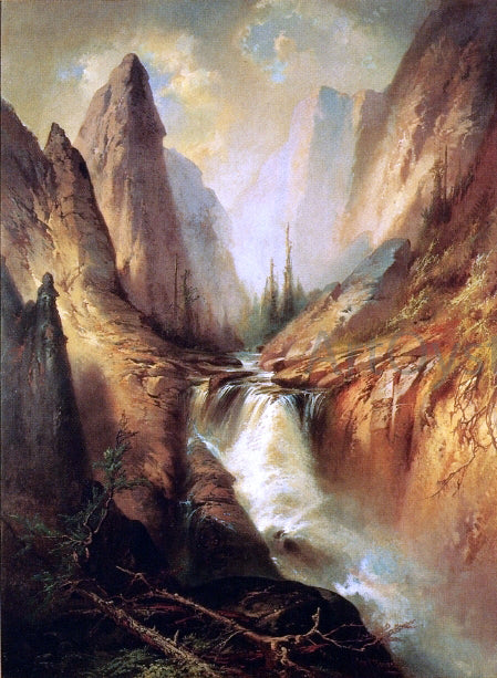 George Frederick Bensell Curescanti Needle, Colorado - Canvas Art Print