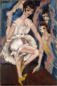 Ernst Ludwig Kirchner Dancer - Canvas Art Print