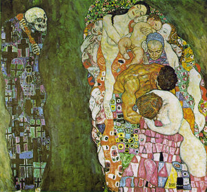 Gustav Klimt Death and Life - Canvas Art Print