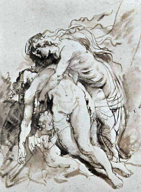 Peter Paul Rubens Death of Adonis - Canvas Art Print