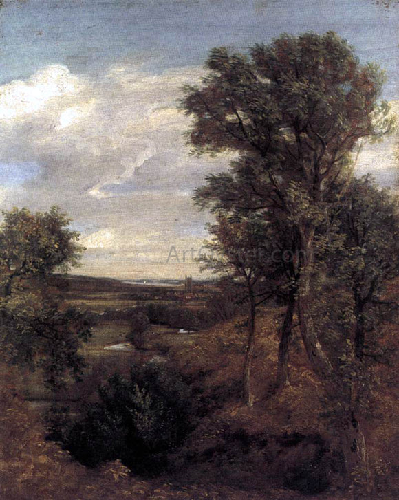 John Constable Dedham Vale - Canvas Art Print