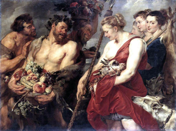 Peter Paul Rubens Diana Returning from Hunt - Canvas Art Print
