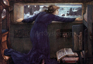 Sir Edward Burne-Jones Dorigen of Britain Waiting for the Return of Her Husband - Canvas Art Print
