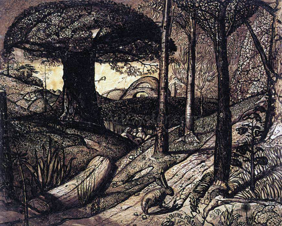 Samuel Palmer Early Morning - Canvas Art Print