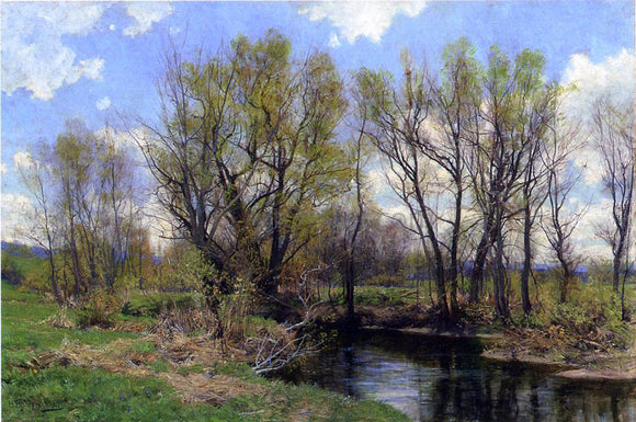 Hugh Bolton Jones Early Spring, Near Sheffield, Massachusetts - Canvas Art Print