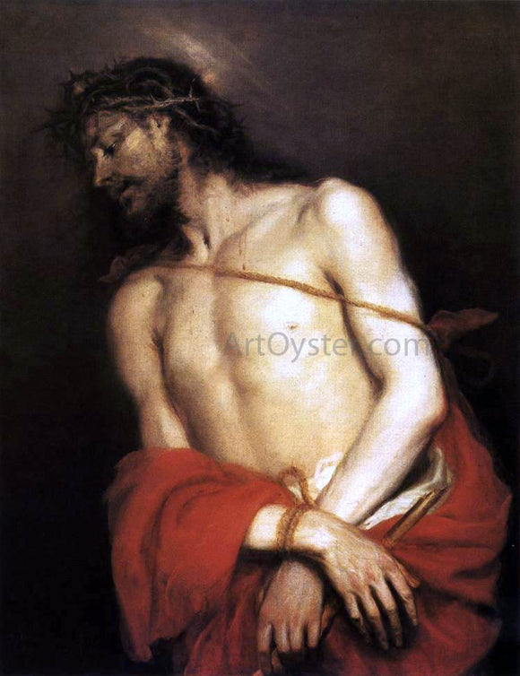 The Younger Mateo Cerezo Ecce Homo - Canvas Art Print