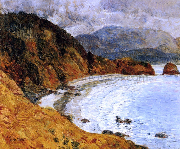 Frederick Childe Hassam Ecola Beach, Oregon - Canvas Art Print
