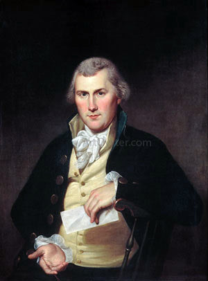 Charles Willson Peale Elie Williams - Canvas Art Print