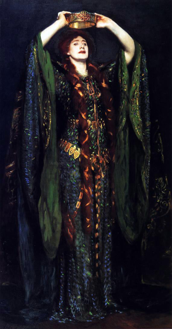 John Singer Sargent Ellen Terry as Lady Macbeth - Canvas Art Print