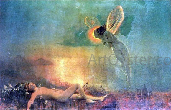 John Atkinson Grimshaw Endymion on Mount Latmus - Canvas Art Print