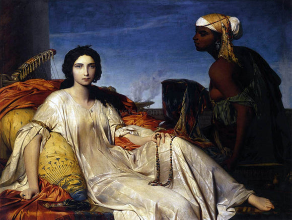 Francois-Leon Benouville Esther - Canvas Art Print