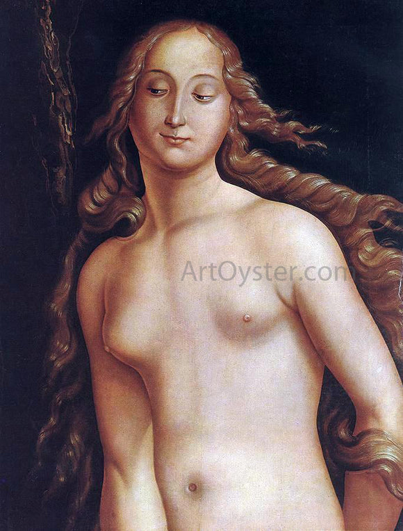 Hans Baldung Eve (detail) - Canvas Art Print
