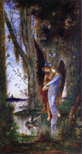 Gustave Moreau Evening and Sorrow - Canvas Art Print