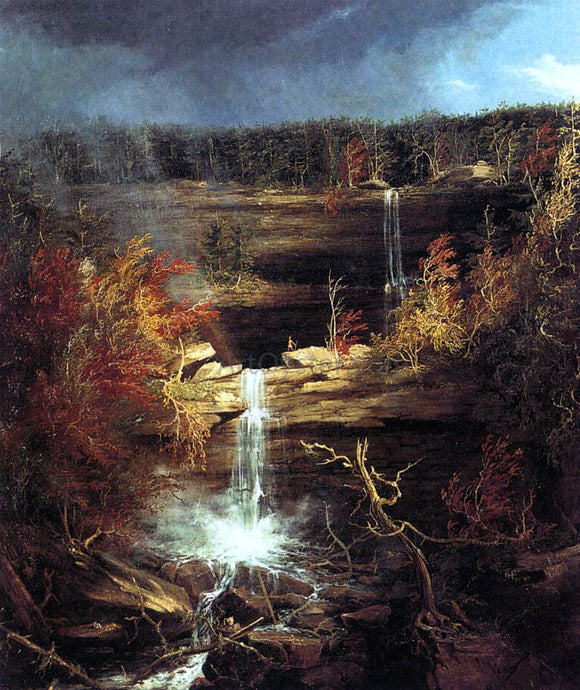 Thomas Cole Falls of the Kaaterskill - Canvas Art Print
