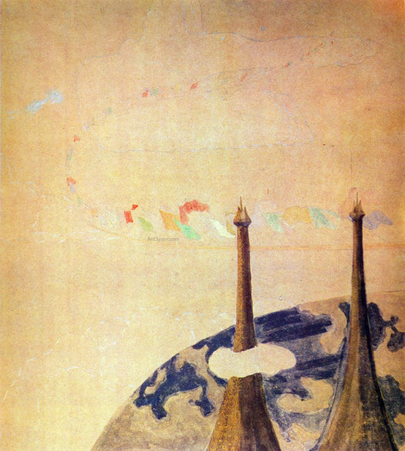 Mikalojus Ciurlionis Finale Sonata of the Spring - Canvas Art Print