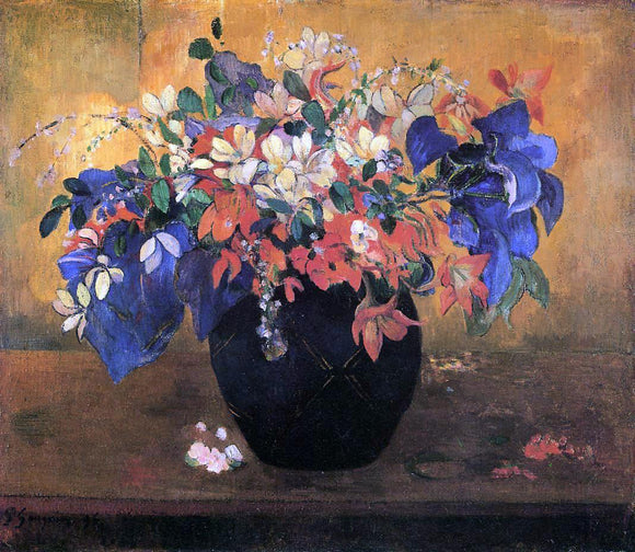 Paul Gauguin Flower Piece - Canvas Art Print